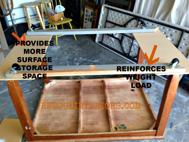 Dining Table to Work Table reinforcements Redouxinteriors