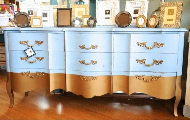 French Dipped Dresser