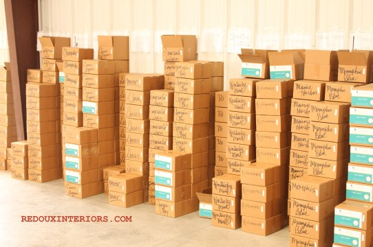 Boxes of Paint