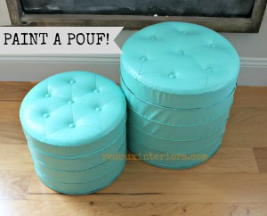 Pouf, Upcycle a Pouf in a Poof