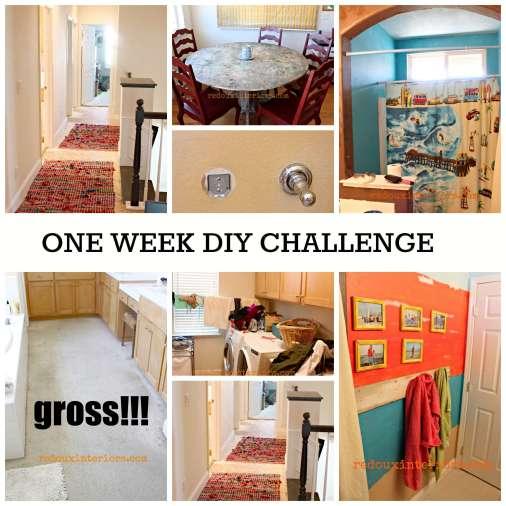 one week home diy challenge redouxinteriors