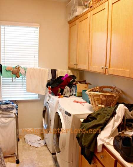 redouxinteriors messy laundry room