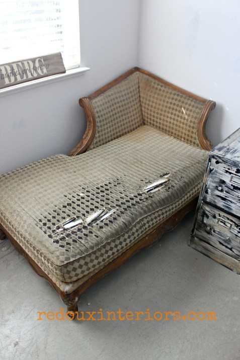 Curbside found chaise lounge redouxinteriors