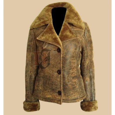 NEW WOMENS UGG ALPINE DISTRESSED LEATHER SHEARLING BOMBER JACKET BROWN (4)-700x700