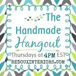 Best DIY Link Party at The Handmade Hangout #3