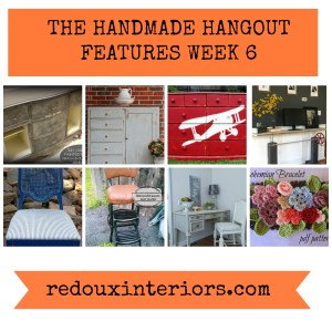 Best DIY Link Party at The Handmade Hangout Week 6