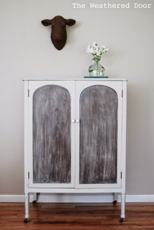 lazy linen washed cabinet WD b-5