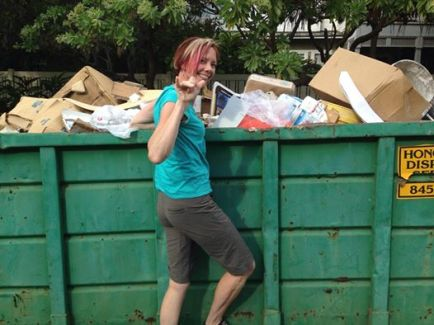 Dumpster Diving in Hawaii Redouxinteriors