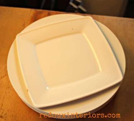 Dumpster Found Plates redouxinteriors.com