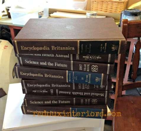 dumpster books redouxinteriors