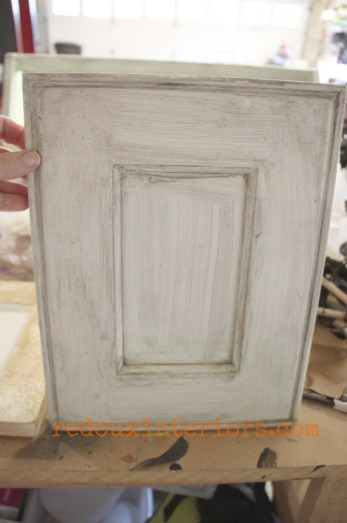 sample cabinet door turned makeup tray before redouxinteriors