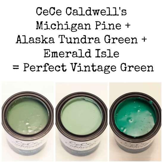 CeCe Caldwells perfect Vintage green