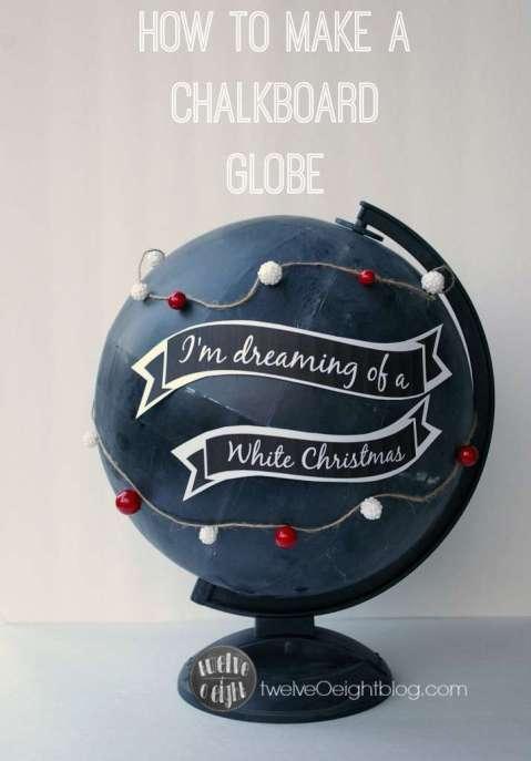 How-to-make-a-Chalkboard-Globe-twelveOeightblog.com-chalkboardglobe-potterybarnknockoff-diyglobe-diychalkboard--714x1024
