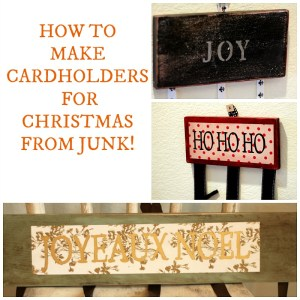 Trashy Tuesday, How to Make Cardholders from Junk