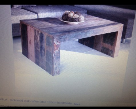 inspiration piece for junk table with overlay redouxinteriors