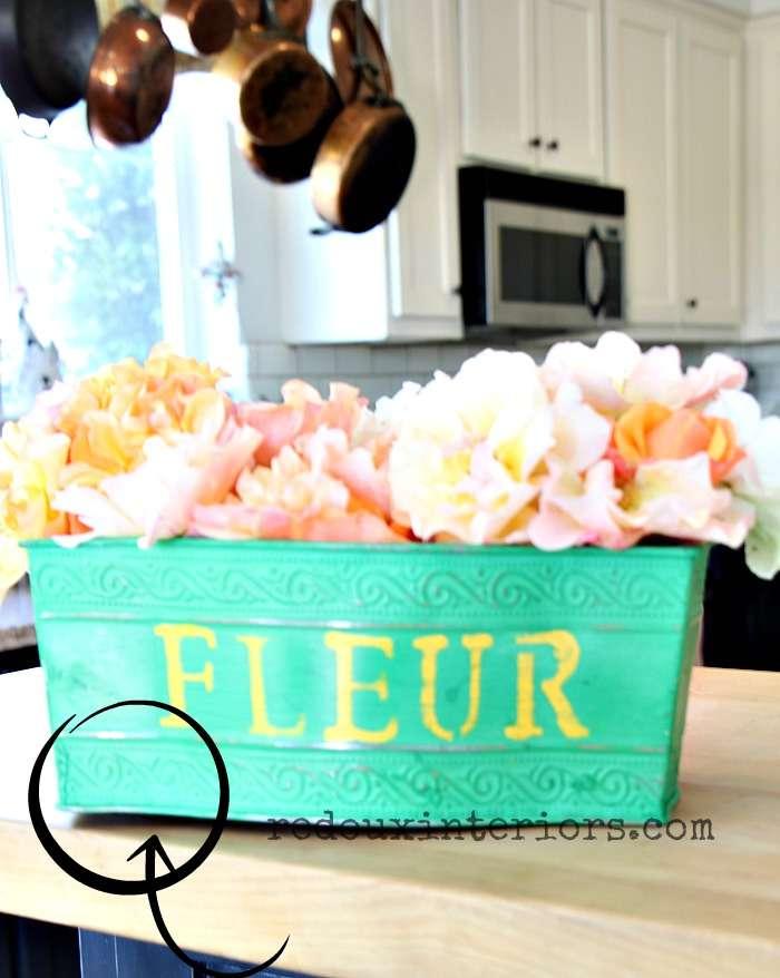 metal flower vase not sitting straight redouxinteriors