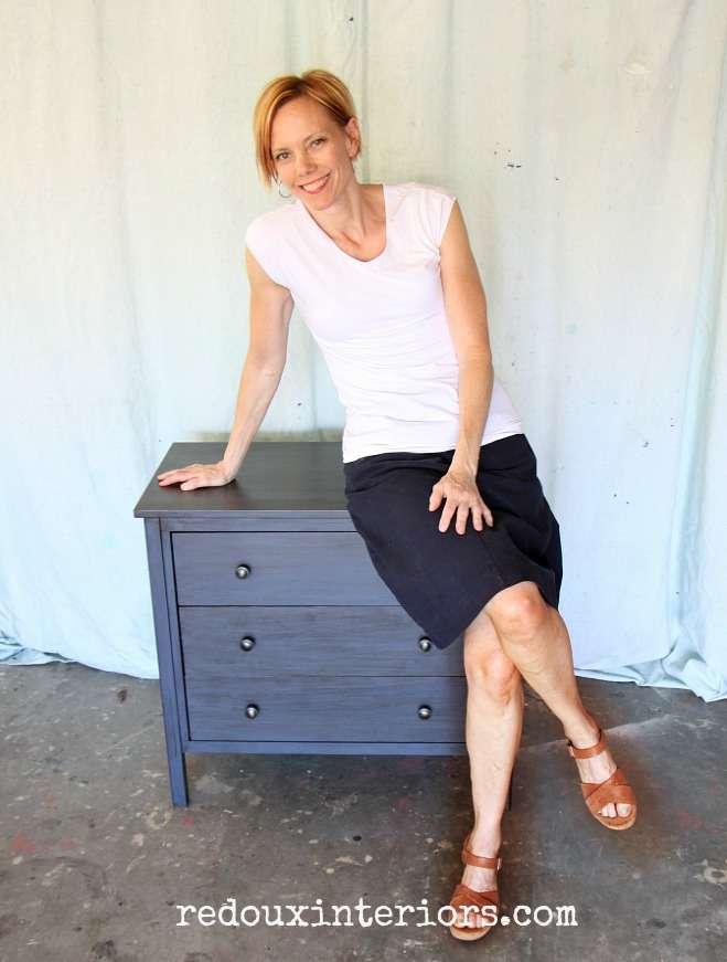 Karen Berg on Free CeCe Caldwells makeover nightstand redouxinteriors