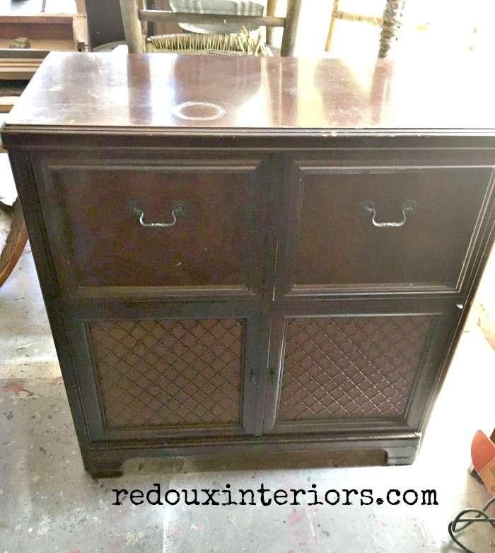 Stereo cabinet before redouxinteriors