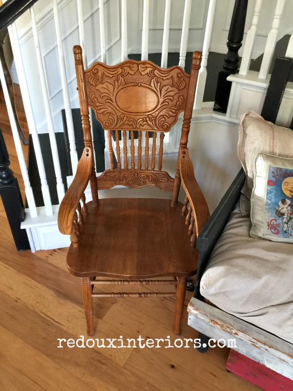 2nd Free oak chair redouxinteriors