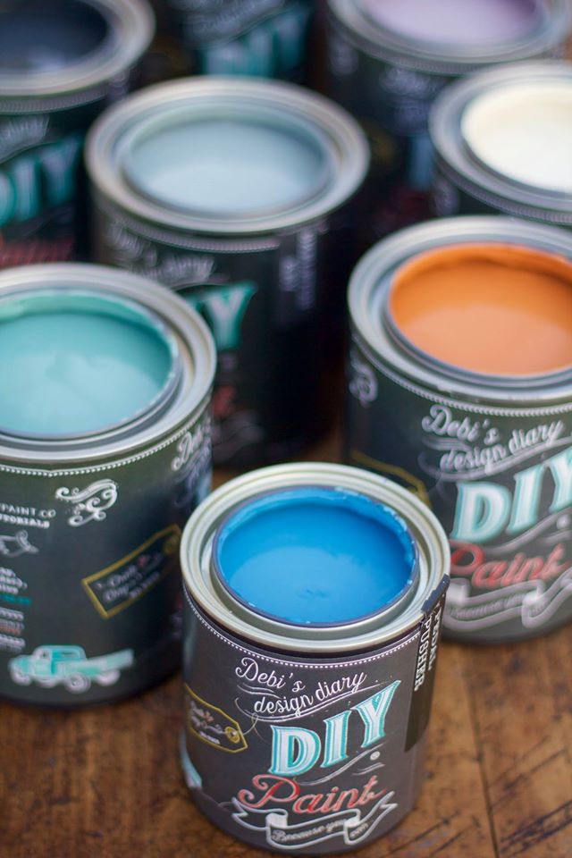 DIY Paint cans