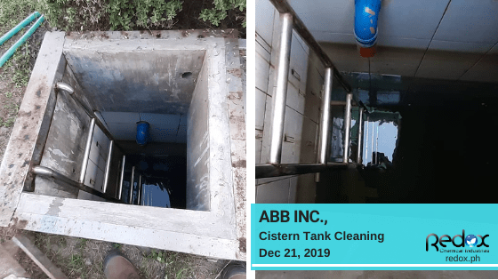cistern tank cleaning in the philippines
