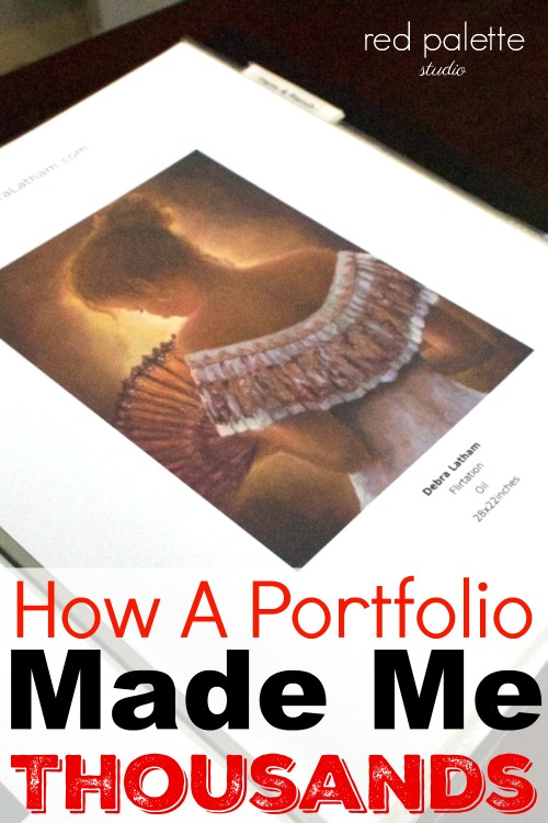 How a Portfolio Made Me Thousands. This really worked great for me and was very easy and inexpensive to do. Wish I had of done this earlier.