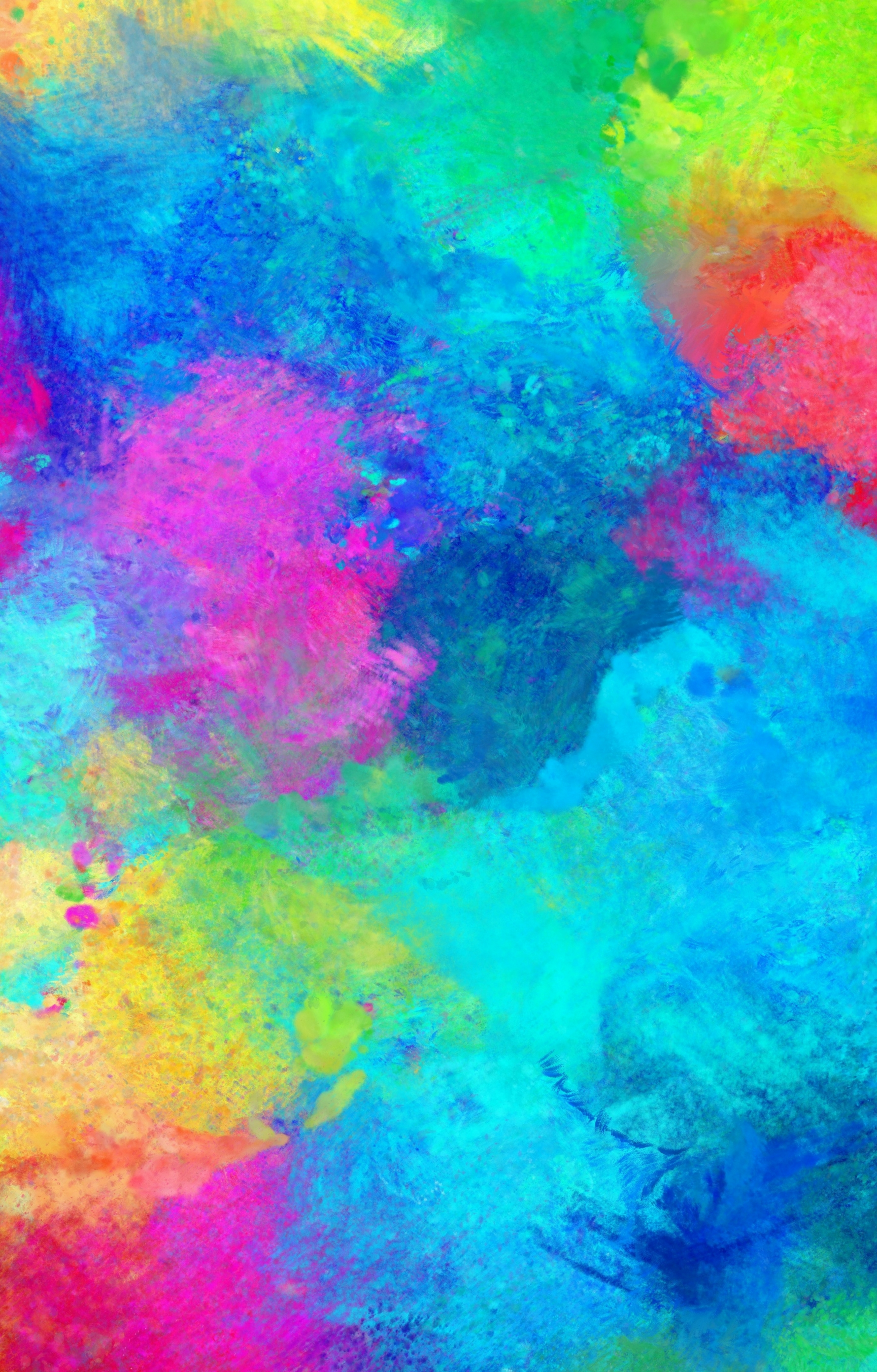 Rainbow Paint Effect Journals Red Panda Publishing