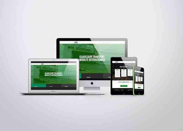 site web responsive transport