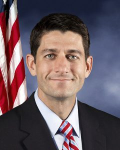 Officieel portret van U.S. Congressman Paul Ryan (R-WI).
