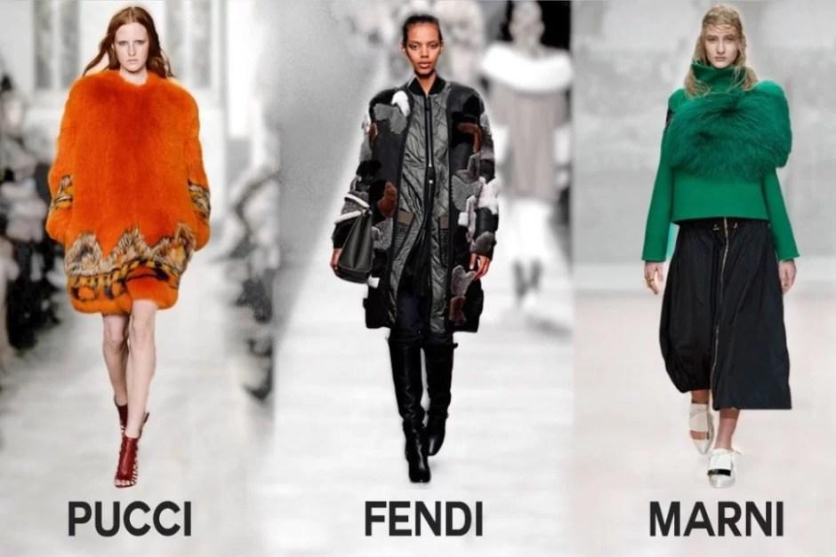 Bont op de Milan Fashion Week, 2014. Foto via Style Cartel