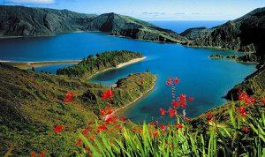 Foto da Lagoa do Fogo