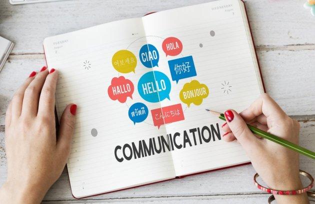 international-communication-notebook