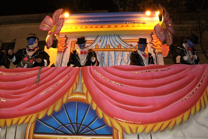Mardi Gras New Orleans Float