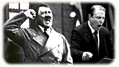 Al Gore/Adolf Hitler