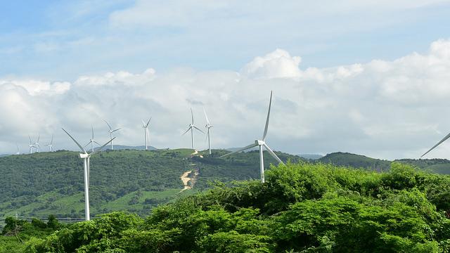 Parque Eólico Larimar 2 en Barahona
