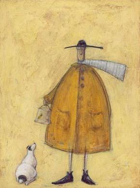 Doris Meets Rover By British Contemporary Artist Sam Toft
