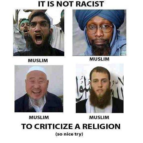 Muslims not a race