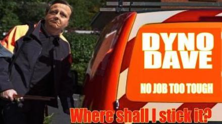 Dyno-Rod David Cameron