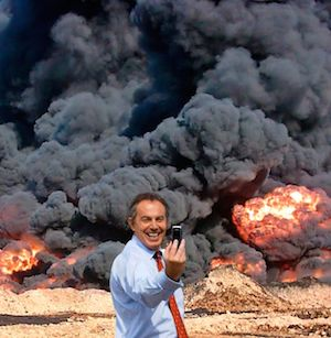 War criminal Tony Blair