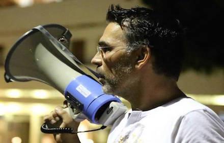 Israeli human rights activist Moti Leybel