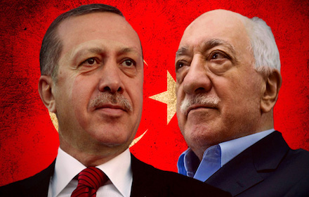 Recep Tayyip Erdogan and Fethullah Gulen