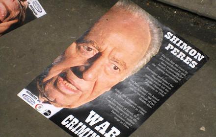 Shimon Peres: war criminal