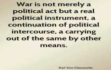 Karl von Clausewitz on war