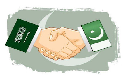 Pakistan and Saudi Arabia
