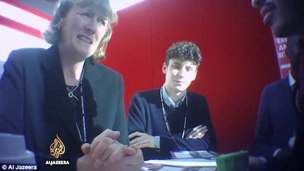 Labour MP Joan Ryan with Israeli spy Shai Masot
