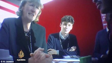 Labour MP Joan Ryan with Israeli spy Shai Masot