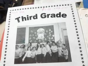 Third Grade at school