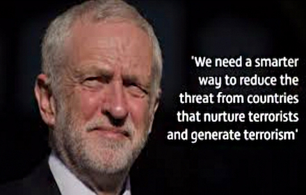 Jeremy Corbyn on how to deal with terrorism
