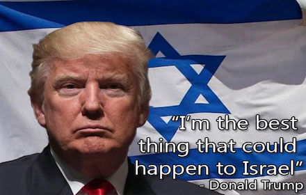 Trump the Israel puppet