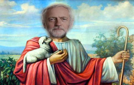 Jeremy Jesus-Christ Corbyn